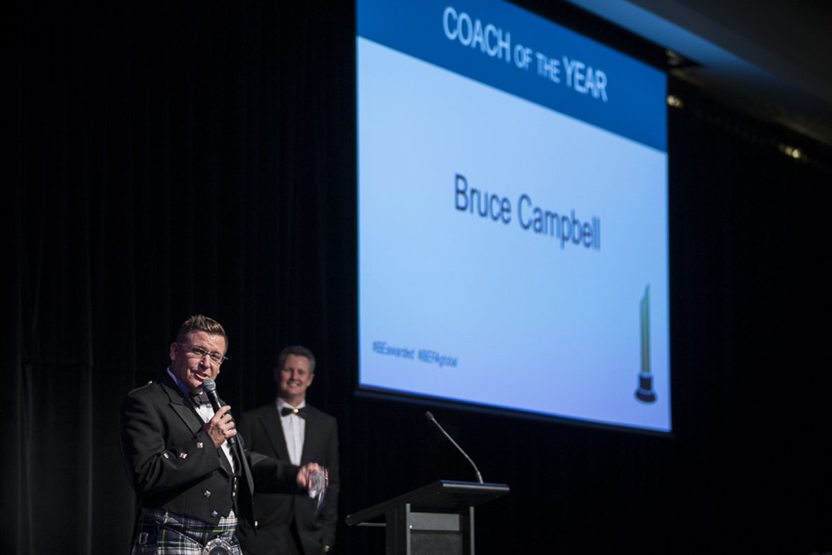 Coach Awards - Coach of the Year - Bruce Campbell 3