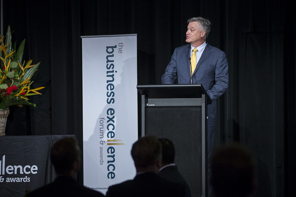 CEO of the Year - Judge - Clive van Deventer, CEO Bartercard Australia 2