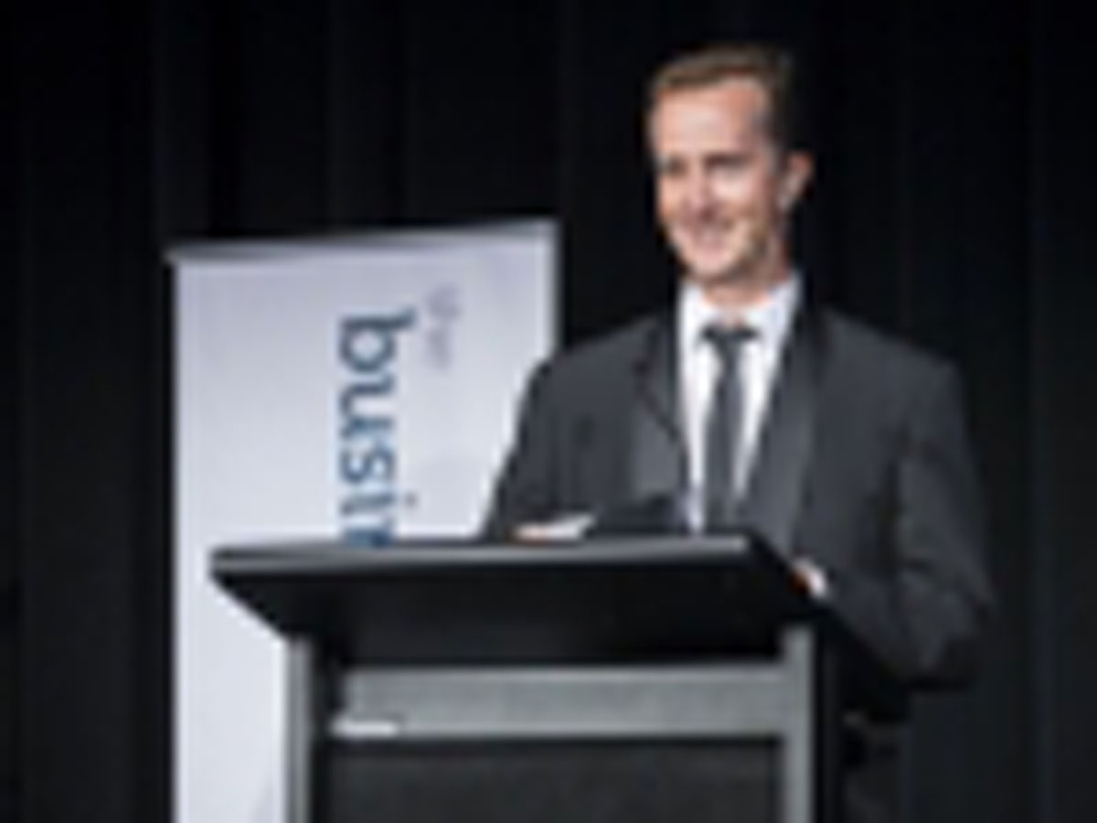 Best Manufacturer_Wholesaler - Judged by Ian Furze, Bartercard Australia, represented by Damian Hoyle, Bartercard Australia